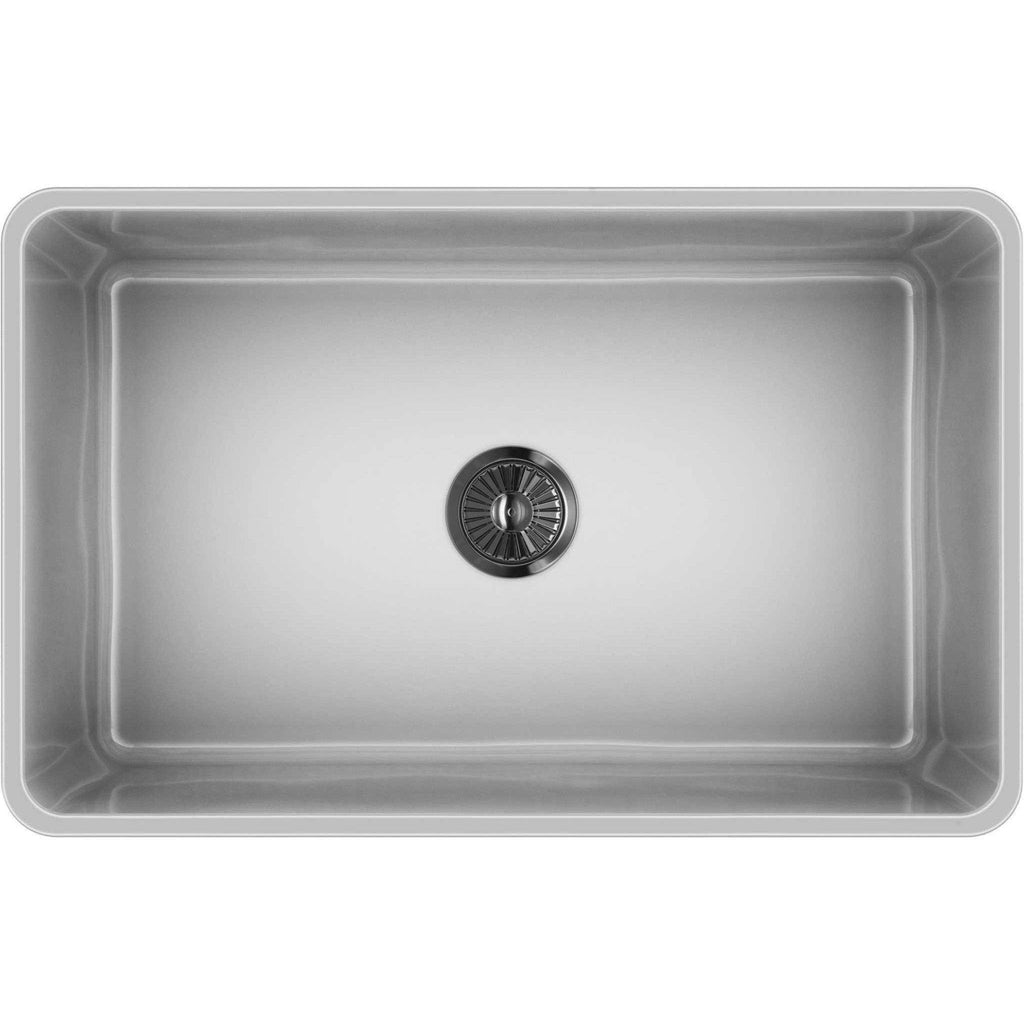30 Quot Apron Fireclay Farmhouse Sink With Reversible Design