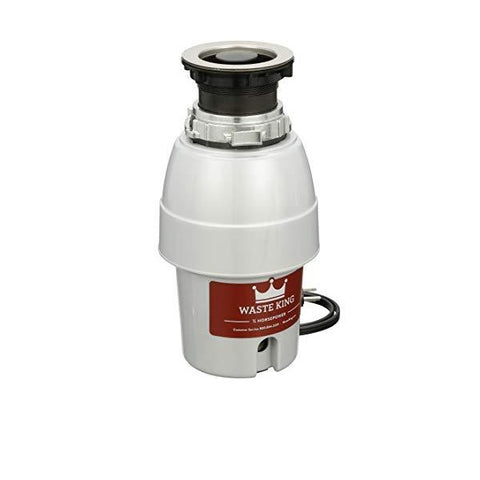 "Image of Waste King Legend Series L-2600 13"" Stainless Steel 1/2 HP Continuous Feed Garbage Disposal"