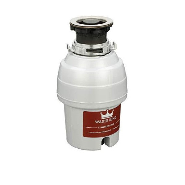 "Waste King L-3200 13"" Stainless Steel 3/4 HP Continuous Feed Garbage Disposal"