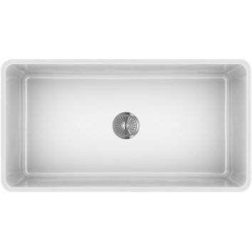 Image of Latoscana 36 White Reversible Casement Design Fireclay Farmhouse Sink LTW3619W - Annie & Oak