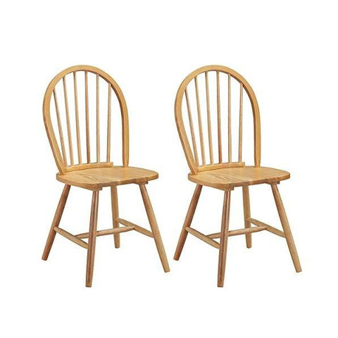 "Water Joy 21"" Wood Chairs Vintage Winds Side Dining Chair Set of 4"