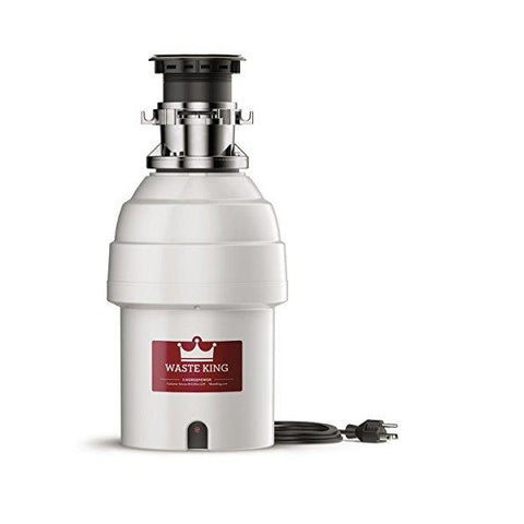 "Image of Waste King L-8000TC 18"" Stainless Steel 1 HP Batch Feed Garbage Disposal"
