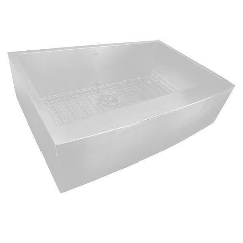 Nantucket APRON332010-16 33 Stainless Steel Farmhouse Kitchen Sink-Annie & Oak
