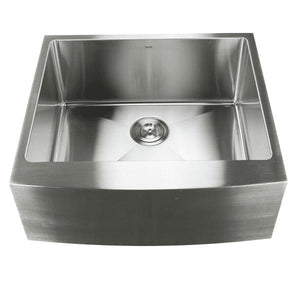 Nantucket APRON2420-SR-16 24 Stainless Steel Single Bowl Farmhouse Sink