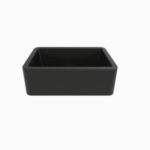 Latoscana 30 Farmhouse Sink Black Metallic Granite LA3019B-Annie & Oak