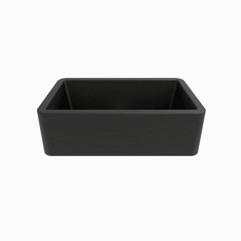 Latoscana 33 Farmhouse Sink Black Metallic Granite LA3319B - Annie & Oak