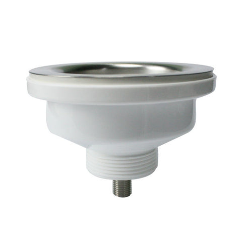 "Image of Nantucket 4.5"" Stainless Steel Flip Top Crumb Cup Inch Kitchen Drain NS35LCC-Annie & Oak"