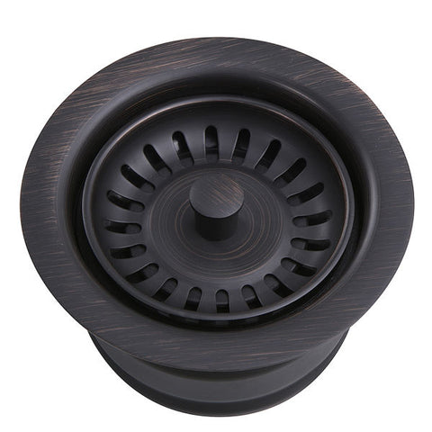 "Image of Nantucket 3.5"" Bronze Extended Kitchen Disposal Flange 3.5EDF-Annie & Oak"