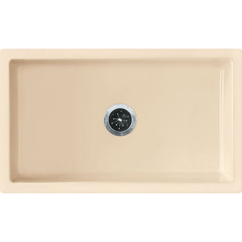 "Image of Franke FH2K710-30BC 30"" Biscuit Single Bowl Fireclay Farmhouse Sink - Annie & Oak"