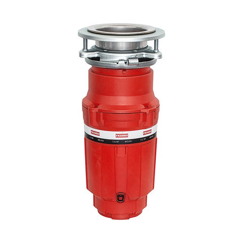 "Franke WDJ50 13"" Red 1/2 Hp Continuous Waste Disposer"