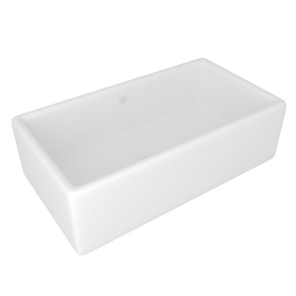 Rohl Shaws Original Lancaster 33 in. Fireclay Farmhouse Sink RC3318-Annie & Oak