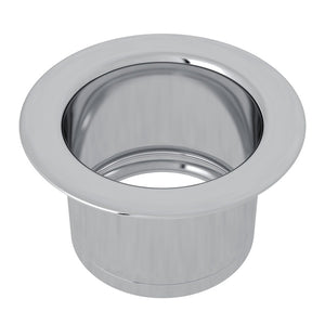 "Rohl ISE10082 3 1/2""Polished Chrome Extended Kitchen Disposal Flange-Annie & Oak"
