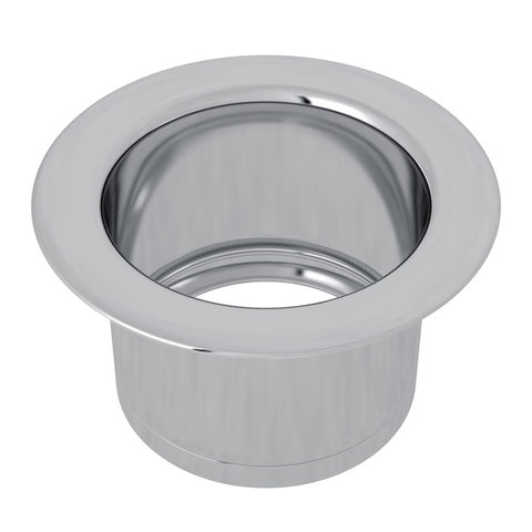 "Rohl ISE10082 3 1/2""Polished Chrome Extended Kitchen Disposal Flange - Annie & Oak"