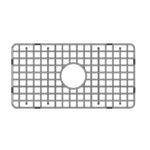 "Image of Latoscana SSG-LFS3018 30"" Stainless Steel Kitchen Sink Grid for LFS3018W-Annie & Oak"