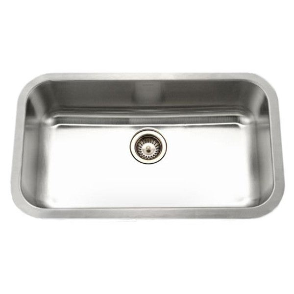 "Houzer STL-3600-1 33"" Stainless Steel Single Bowl Undermount Sink"