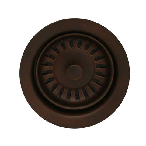 "Whitehaus 3 ½"" Mahogany Bronze Waste Disposer Trim for Deep Fireclay Sinks WH202-Annie & Oak"