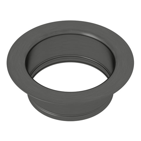 "Rohl 743 3 1/2"" Black Stainless Steel Disposal Flange - Annie & Oak"