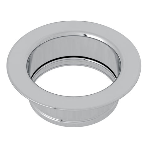 "Rohl 743 3 1/2"" Polished Chrome Disposal Flange - Annie & Oak"