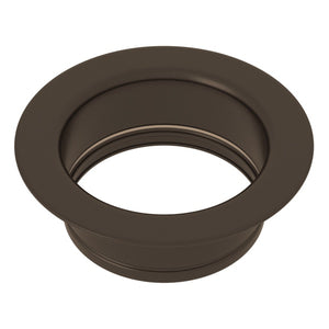 "Rohl 743 3 1/2"" Tuscan Brass Disposal Flange - Annie & Oak"