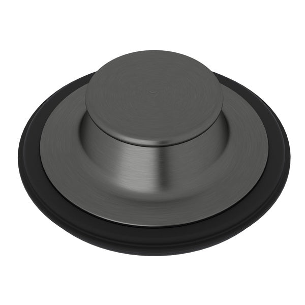 "Rohl Sinks 744 3 1/2"" Black Stainless Steel I.S.E. Disposal Stopper - Annie & Oak"