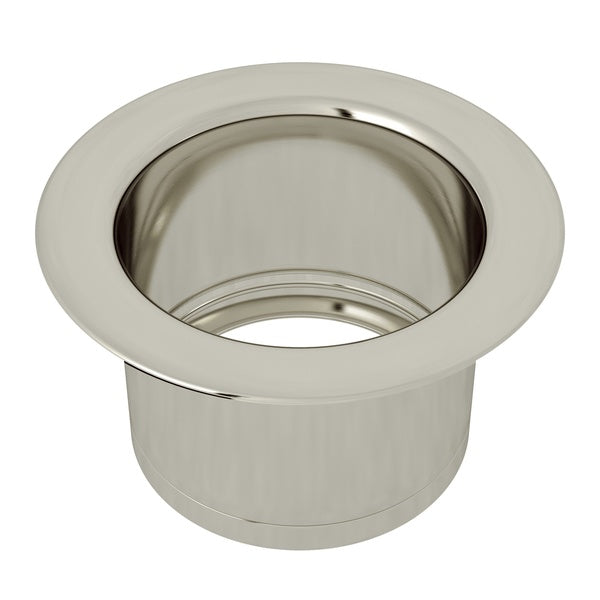 "Rohl ISE10082 3 1/2"" Polished Nickel Extended Kitchen Disposal Flange - Annie & Oak"