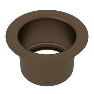 "Rohl ISE10082 3 1/2"" English Bronze Extended Kitchen Disposal Flange - Annie & Oak"