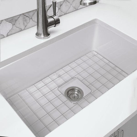 Image of Nantucket Wellfleet-3218W 32 Under / Overmount Fireclay Sink White - Annie & Oak