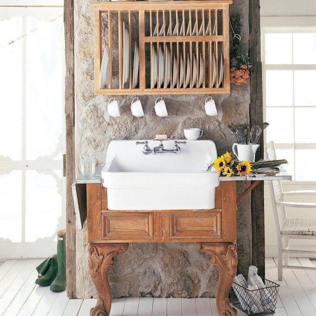 American Standard White Country Kitchen Wall Mount Sink