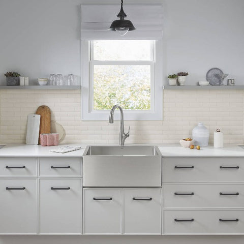 "Image of American Standard Avery 30"" Stainless Steel Single Bowl Farmhouse Sink - Annie & Oak"