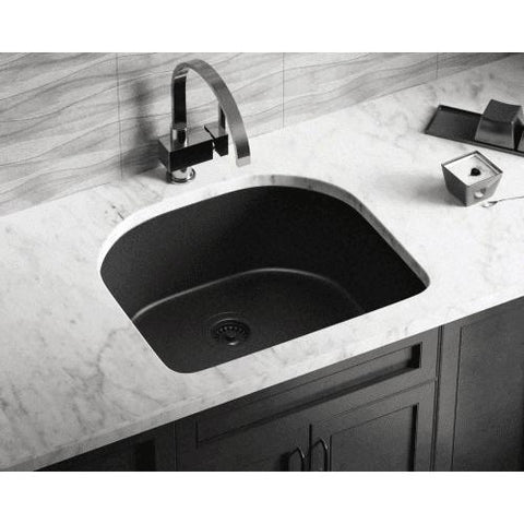 Polaris Sinks P428 AstraGranite Undermount Kitchen Sink - Annie & Oak