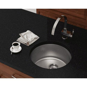 Polaris Sinks P564 Round Stainless Steel Bar or Prep Sink