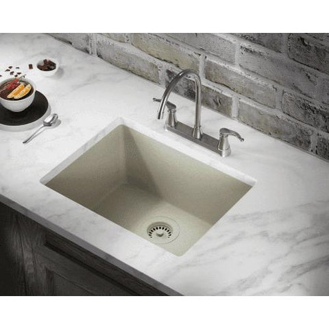 Polaris Sinks P808W Single Bowl Undermount AstraGranite Sink - Annie & Oak