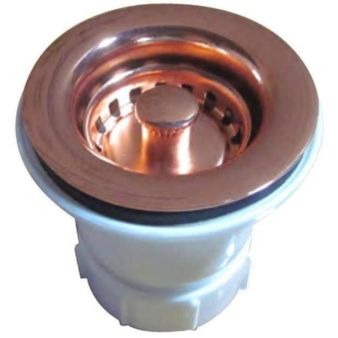 Image of Whitehaus WC2BASK 2'' Kitchen Sink Basket Strainer in Variety of Finishes - Annie & Oak