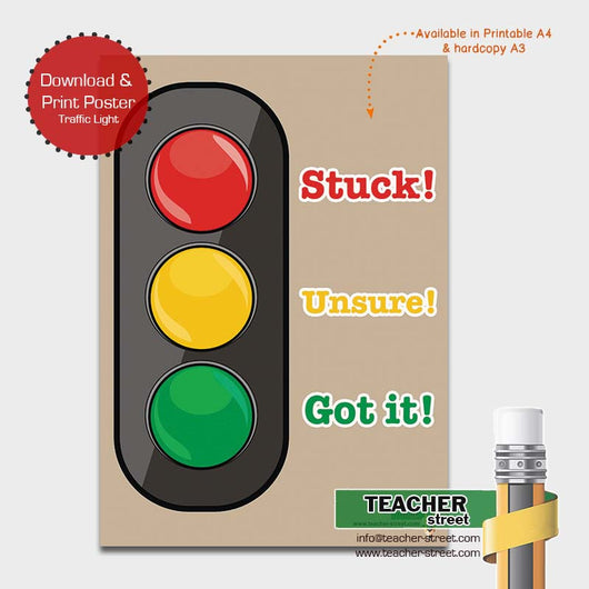 It is a graphic of Stoplight Printable within behavior