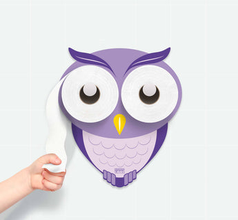 Owl, Toilet Paper Holder, Potty Training, Kids Bathroom, Baby Bath Decor