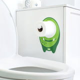 Toilet Paper Holder, Potty Training, Kids Bathroom, Baby Bath Decor, Monster