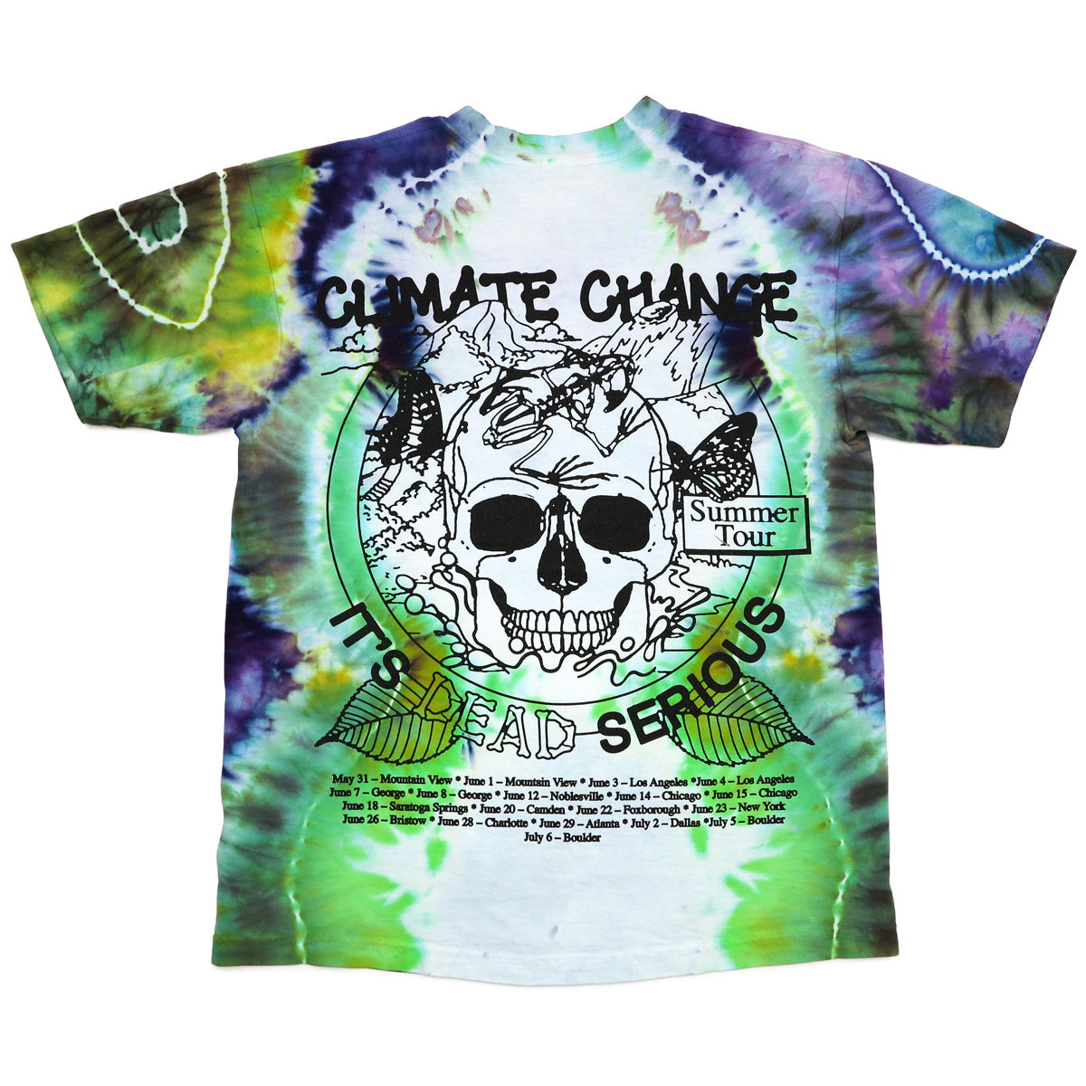 b1308107a3 ... Climate Change is Dead Serious (special edition dye by Cosmic Cove,  each one is