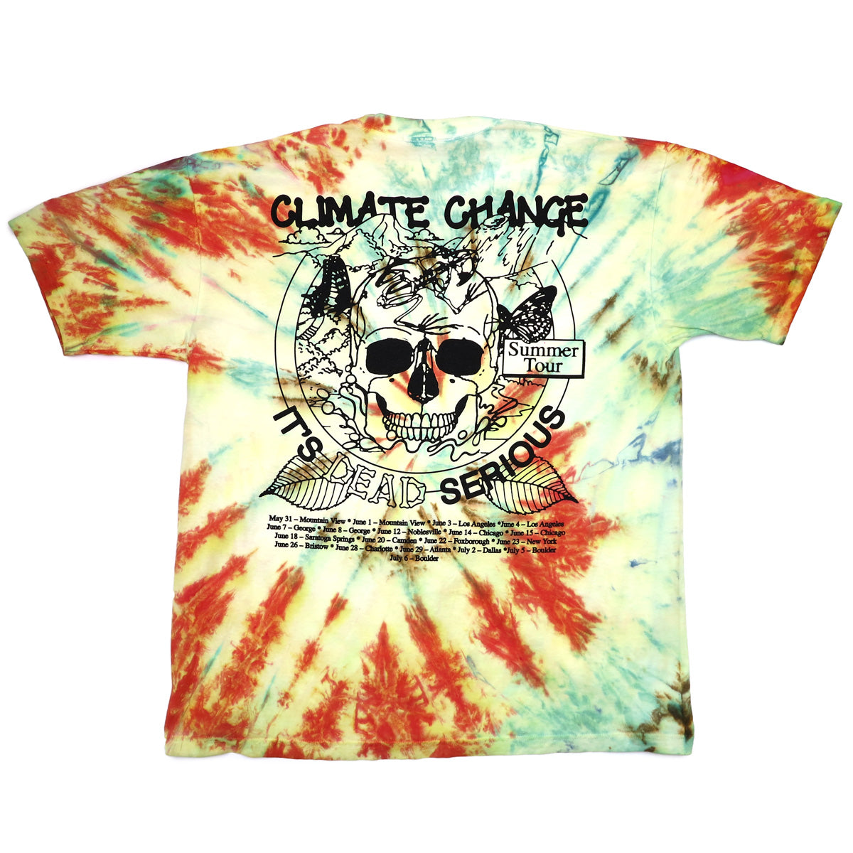 db38222bdc ... Climate Change is Dead Serious (hand dyed at our studio in LA) product  shot