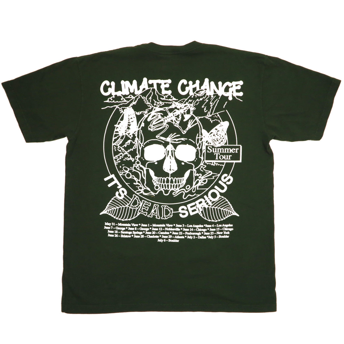 d22122648d51 ... Climate Change is Dead Serious (greener pastures) product shot. S M