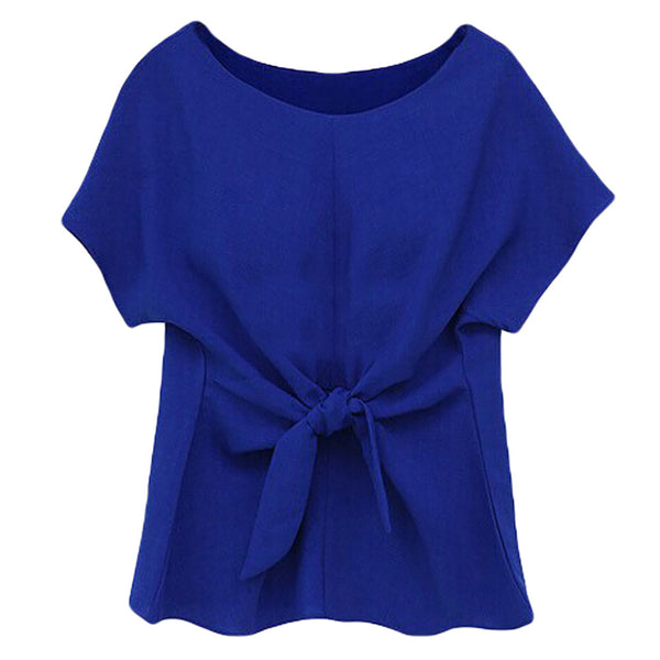BLUE CHIFFON SHIRT- EXCLUSIVE & FAST SPONSORED