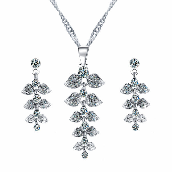 Leaf Jewelry Set- Exclusive & Fast Sponsored