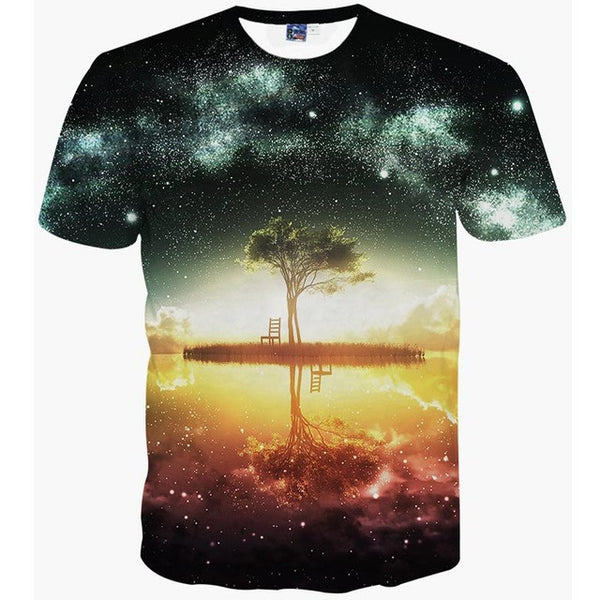 GALAXY T-SHIRT MEN- EXCLUSIVE & FAST SPONSORED