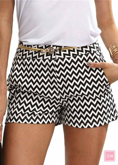Black & White Zigzag