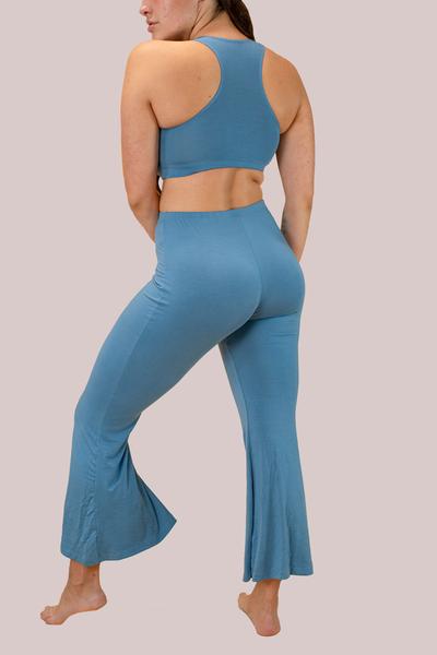 Powder Blue Frankie Flares