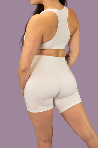 Ivory Gabi Bike Shorts