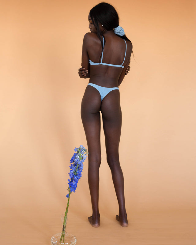 Powder Blue Eva G-String