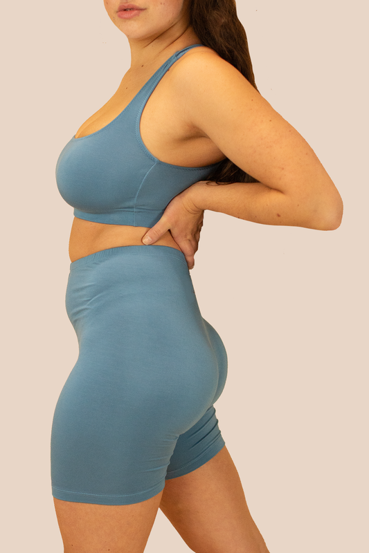 Powder Blue Jacky Sports Bra