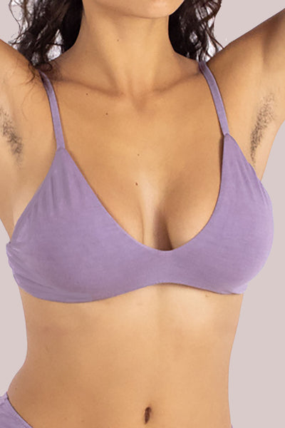 Mauve Stella Low Cut Bra