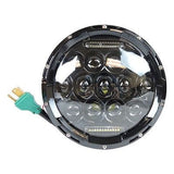 "7"" LED Projector Daymaker SunBeam Headlight Black 75W"