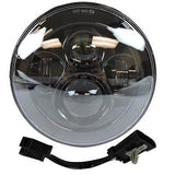 "7"" Led Projector Daymaker Headlight + 4.5"" Passing Lights Set Black"